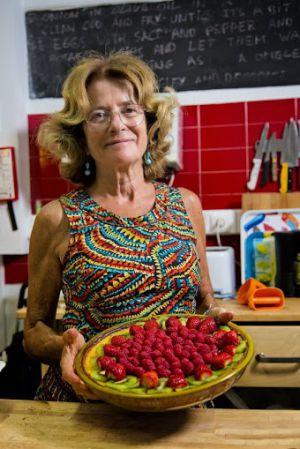 Isabel Mesquita -Mamma Isabel-, de la familia propietaria del Home Lisbon Hostel.