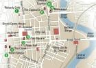 24 horas en Belfast, el mapa