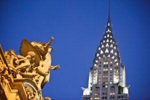 Chrysler Building, en Nueva York.
