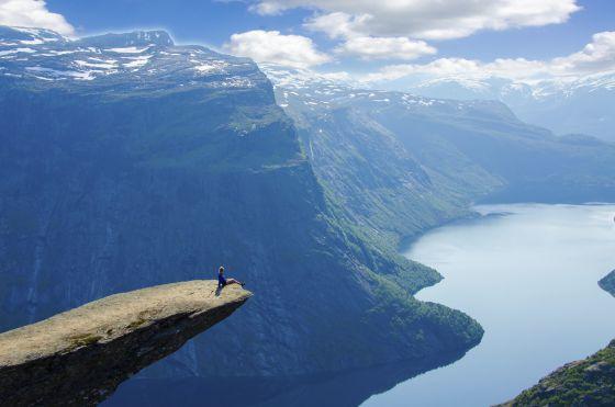 El púlpito de los troles en Noruega