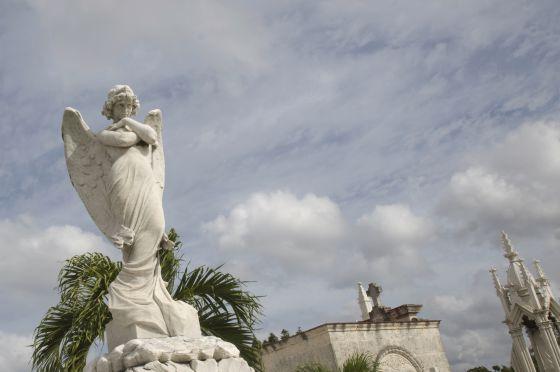 Cementerio de Colón, en La Habana.