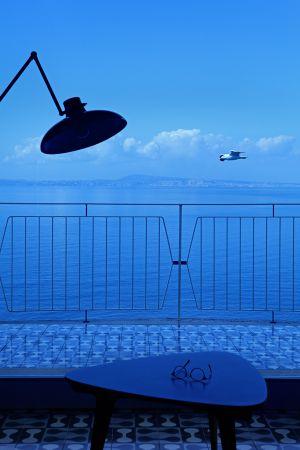 Vistas de la costa Amalfitana desde una de las terrazas del hotel.