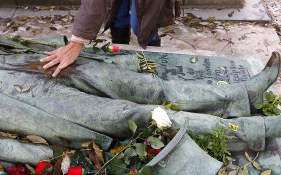 La tumba más acariciada de París