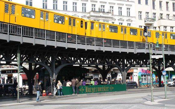Hamburguesería Burgermeister, en Berlín