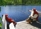 ¿Qué hace Santa en verano?