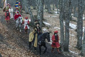 Serie 'Carlos, rey emperador', en TVE.