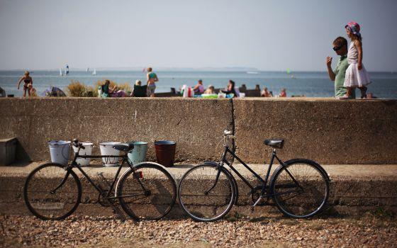 La costa de Kent, desde la bici