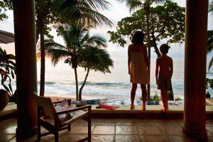 Vistas al Pacífico desde una villa privada en Tambor, cerca de Santa Teresa, en Nicoya (Costa Rica).