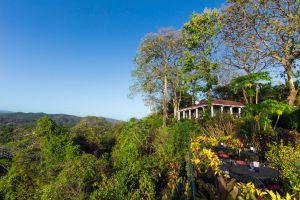 Terraza del Lagarto Lodge, en Nosara (Costa Rica).