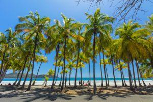 Playa Carrillo, cerca de Sámara, en la península de Nicoya (Costa Rica).