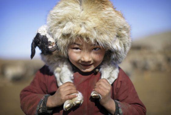 Los nómadas del eterno cielo azul