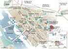 24 horas en Mérida, el mapa