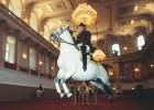 El baile de los 'lipizzanos' en Viena