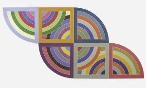 Cuadros Frank Stella.