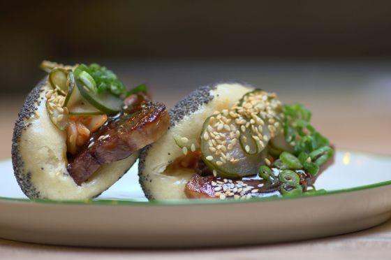 'Bao bun', un panecillo chino.