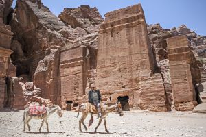 Ruinas de Petra, en Jordania.