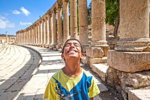 Ruinas romanas de Gerasa, en Jordania.