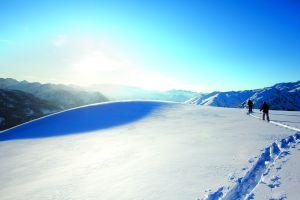 Pista para esquí de montaña en Baqueira.