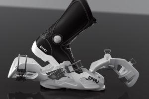 Nueva botas de esquí de la marca Dahu.