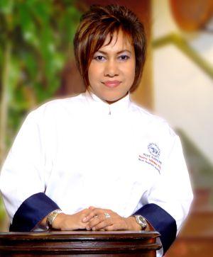 La chef tailandesa Nooror Steppe.