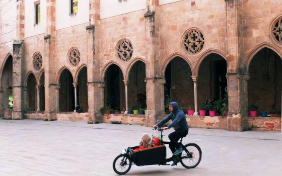 Patio del Antiguo Convento de Sant Agustí, en Barcelona