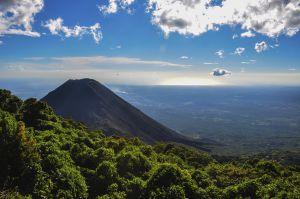 El volcán de Izalco, en El Salvador.