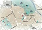 24 horas en Kromeriz, el mapa