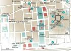 24 horas en Zagreb, el mapa