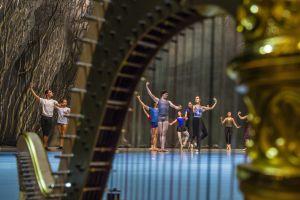 Ensayo de 'El lago de los Cisnes' en el nuevo teatro Mariinsky II, en San Petersburgo.