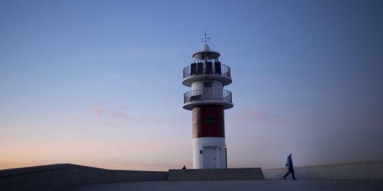 El faro del cabo Ortegal, en el municipio de Cariño (A Coruña)