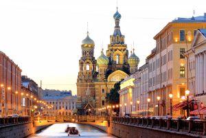 La iglesia del Salvador sobre la Sangre Derramada, en San Petersburgo.
