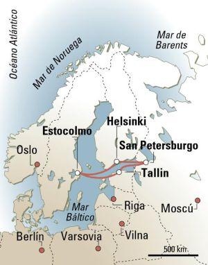 Hoy San Petersburgo, mañana Estocolmo