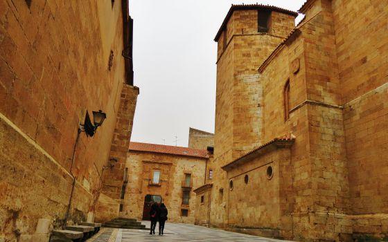 Plaza de San Benito, en Salamanca