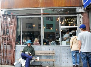 Restaurante Five Leaves, en en Greenpoint, en Nueva York.
