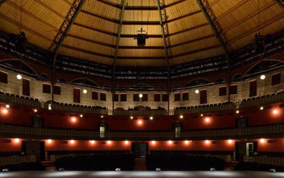 Panorámica del Teatro Circo de Murcia