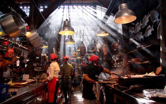 Restaurante Andrés Carne de Res, en Chía, Colombia