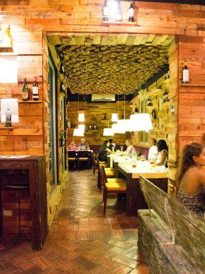 Restaurane El Santísimo, en Cartagena de Indias (Colombia).