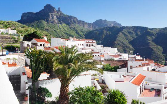 Tejeda y el Roque Nublo, en Gran Canaria