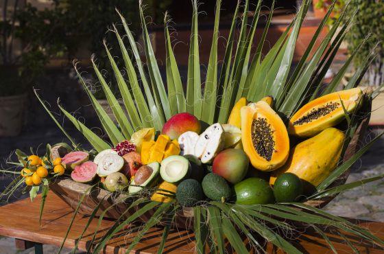 Frutas exóticas de Finca San Ramón, en la Costa Tropical de Granada.