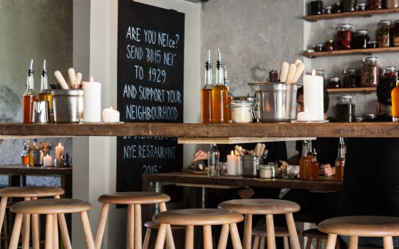 Cafetería Neighbourhood, barrio de Vesterbro, en Copenhague