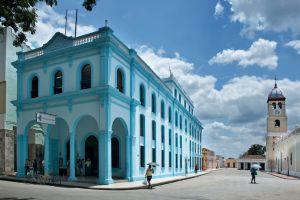 Arquitectura colonial en Camagüey, en Cuba.