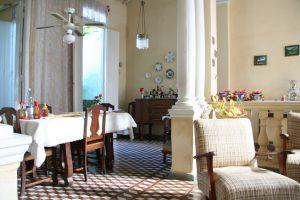 Casa de hospedaje en Santa Clara, en Cuba.