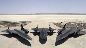 La base militar Edwars, en el desierto de Mojave (California, EE. UU.).