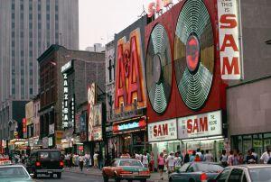 Yonge street, en Toronto.