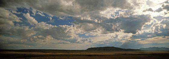 La reserva india de Galisteo Basin, en Nuevo México (EE. UU.).