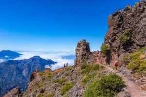 El Roque de los Muchachos, en la isla de La Palma.