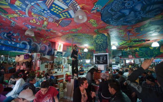 Pulquería Las Duelistas, en México DF