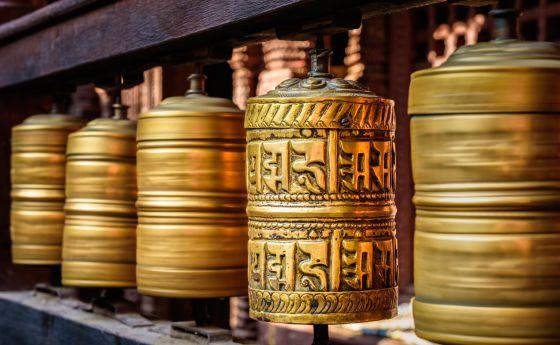 Templo budista de Swayambhunath, Nepal