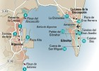 24 horas en... la bahía de Algeciras, el mapa