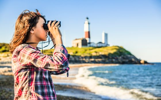 Faro de Montauk Point, en Long Island, Nueva York